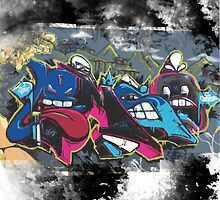 King of Graffiti by Maestro Hazer