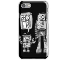 FEAR ME! Robot Kid iPhone Case/Skin