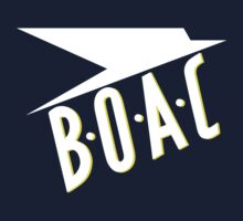 BOAC Airline T-Shirt Kids Tee