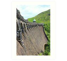A trip to the dams. Art Print
