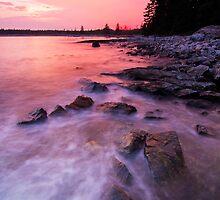 Acadia National Park sunset by MIRCEA COSTINA