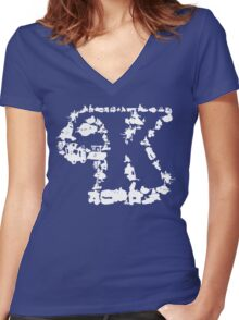 Kennerverse - Collect Them All! Women's Fitted V-Neck T-Shirt