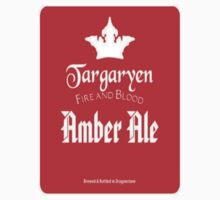 Game of Thrones House Targaryen Beer T-Shirt by wasdstomp