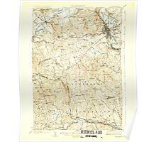 USGS TOPO Map New Hampshire NH Concord 329975 1927 62500 Poster