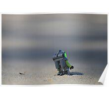 Lego Spaceman Poster