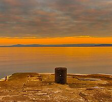 LOSSIEMOUTH - THE HARBOURS CULLEN VIEW by JASPERIMAGE