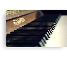 Piano Lessons Canvas Print