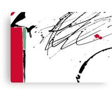 Red Splash Canvas Print