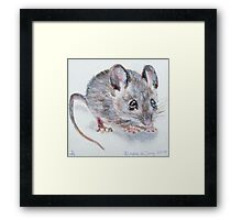 Wiebje Mouse Framed Print