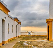 LOSSIEMOUTH - COVESEA LIGHTHOUSE PATIO by JASPERIMAGE