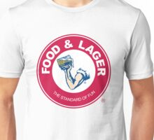 Food & Lager Unisex T-Shirt