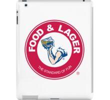 Food & Lager iPad Case/Skin