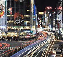 Tokyo Lights by Alistair McNab