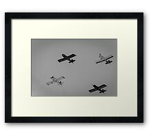 Four Planes. Framed Print