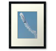Stunt Plane. Framed Print