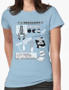 H.G. Wells Witticisms Womens Fitted T-Shirt