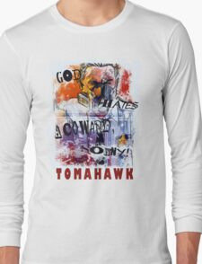 TOMAHAWK - god hates a coward Long Sleeve T-Shirt