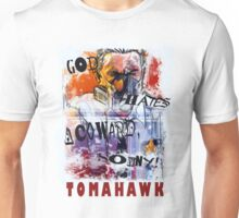 TOMAHAWK - god hates a coward Unisex T-Shirt