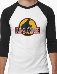Jungle Cruise Park (WITH TEXT) Men's Baseball ¾ T-Shirt