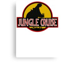 Jungle Cruise Park (WITH TEXT) Canvas Print