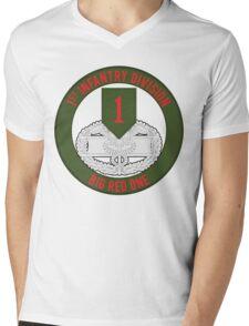 1st Infantry CFMB Mens V-Neck T-Shirt