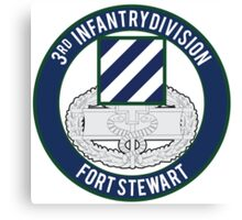 3rd Infantry CFMB Canvas Print
