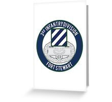 3rd Infantry CFMB Greeting Card