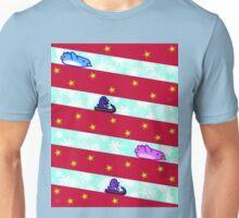 Candy Slide - X'mas Penguins Unisex T-Shirt
