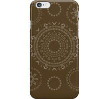Monogram Pattern (F) in Carafe iPhone Case/Skin