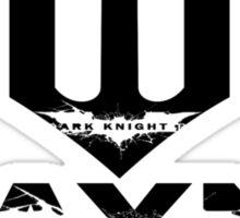 Wayne Enterprises / Batman Cover up T-Shirt Sticker