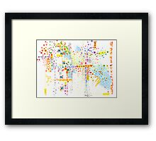 Structure, Evolution Framed Print