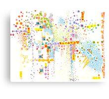 Structure, Evolution Canvas Print