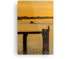 into the sunrise - Mannum SA Metal Print