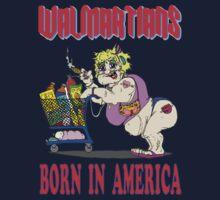Walmartians Born In USA One Piece - Long Sleeve