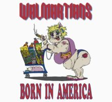 Walmartians Born In USA Kids Clothes