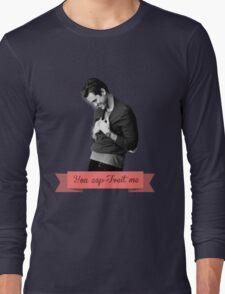 You cap-Tveit me! Long Sleeve T-Shirt