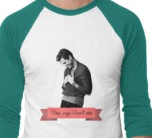 You cap-Tveit me! Men's Baseball ¾ T-Shirt