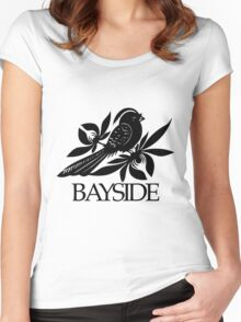 Bayside Band Logo Women's Fitted Scoop T-Shirt