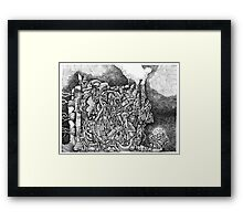 The Allegory of Circumstance Framed Print