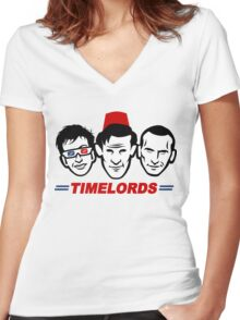 The Time Boys Women's Fitted V-Neck T-Shirt