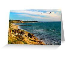 Sandringham Beach  Victoria  Australia Greeting Card