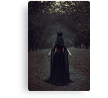 Black Queen Canvas Print