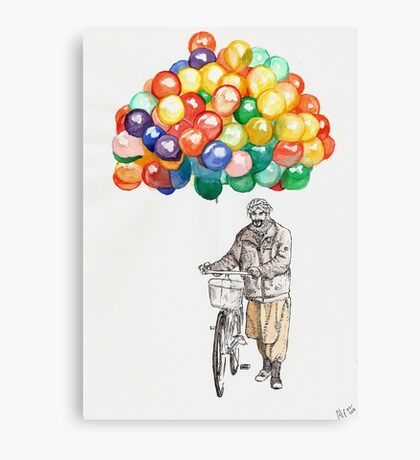 Balloon Seller Canvas Print