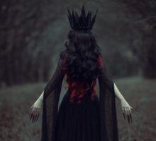Black Queen Sticker