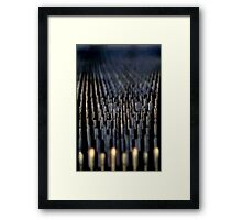 I'm Going Down, Down, Down Framed Print