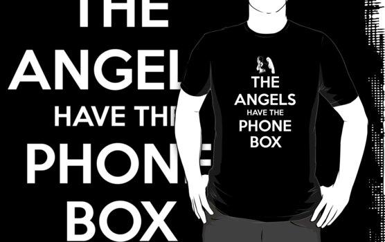 The Angels Have The Phone Box - Keep Calm poster style by slitheenplanet