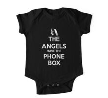 The Angels Have The Phone Box - Keep Calm poster style One Piece - Short Sleeve