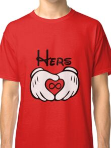 Mickey G-l-o-v-e Couple Shirt Classic T-Shirt