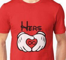 Mickey G-l-o-v-e Couple Shirt Unisex T-Shirt