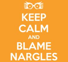 Keep Calm and Blame Nargles by slitheenplanet